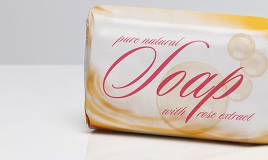 Soap packaging papers